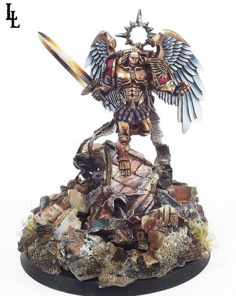Сангвинарная Гвардия Warhammer 40k, Blood Angels, wh back, длиннопост