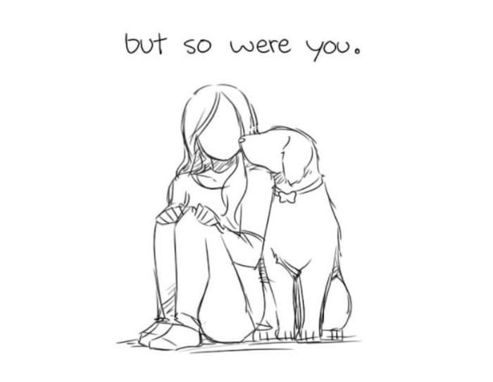 Художник создал этот душераздирающий комикс после смерти своей собаки 9gag, Перевод, Чертовы ниндзя режут лук, Длиннопост