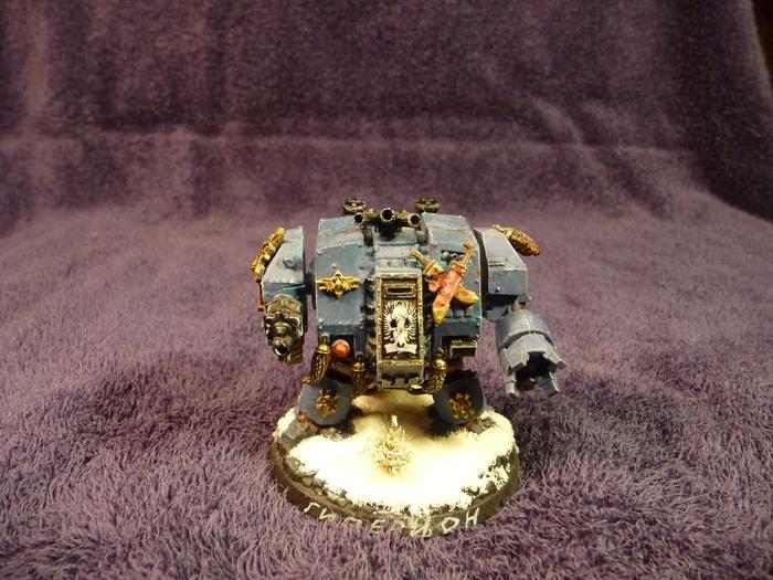Космические Волки. Дредноуты. Бремя первых... Warhammer 40k, wh miniatures, space wolves, дредноут, длиннопост