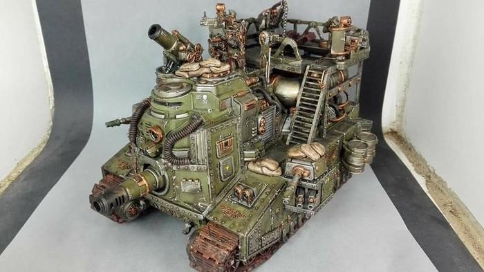 Что ты такое? Warhammer 40k, wh miniatures, конверсия, техника, длиннопост