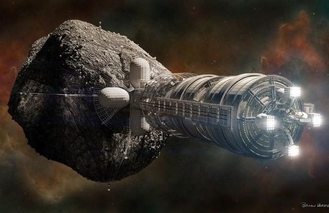 Астероиды добыча ископаемых пептиды для роста