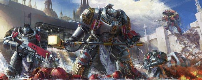 Серые Рыцари Warhammer 40k, Wh art, hammk