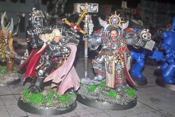 В три цвета Warhammer 40k, wh miniatures, Wh Other, покраска в три цвета
