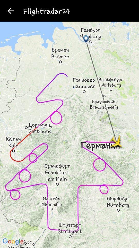 Ничего особенного. Просто Airbus что то тестирует. гражданская авиация, Авиация, flightradar24
