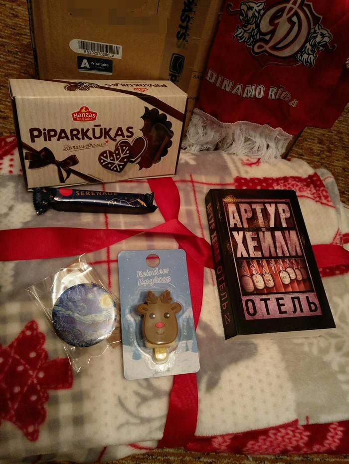 Тайный Дед Мороз из Риги Обмен подарками, Новый Год, Спасибо