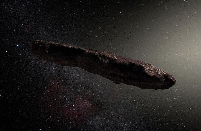 Хаотическое вращение Оумуамуа, возможно, объясняется выходом из строя двигателей у чужого зонда, утверждает американский астроном перевод, космос, Оумуамуа, инопланетный разум, межзвездный пришелец, длиннопост