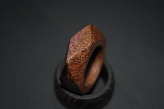 "Кольцо из дерева ""лайсвуд - амарант"" Handmade, Рукоделие без процесса, Своими руками, Ручная работа, Лайсвуд, Амарант, Кольцо из дерева, Длиннопост"