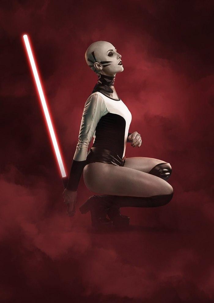 Cosplay Asajj Ventress (Star Wars) Косплей, Звездные войны: Войны клонов, Star wars, Ситхи, Сериал Звездные Войны, Asajj Ventress, Длиннопост