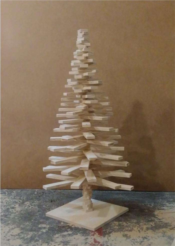 А мы вчера сделали вот такую елку. ёлка, модерн, хэндмейд так сказать