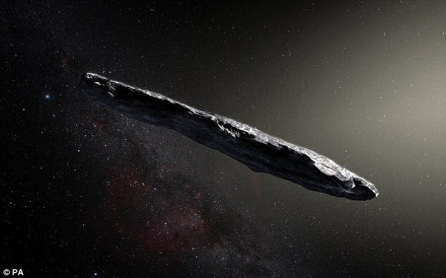 Молчание Оумуамуа перевод, Оумуамуа, межзвездный пришелец, SETI, космос, видео, длиннопост