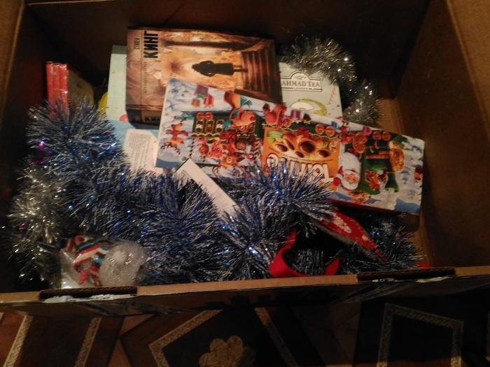 Вот и мне пришла посылка от Дедушки Мороза из Санкт-Петербурга! Обмен подарками, Тайный Санта, Праздник к нам приходит!, Длиннопост