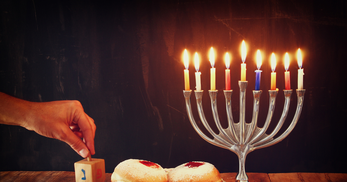 Chanukkah Hannukkah Chanukkà Channukah in ebraico חנוכה o חנכה ḥănukkāh è una festività ebraica conosciuta anche con il nome di Festa