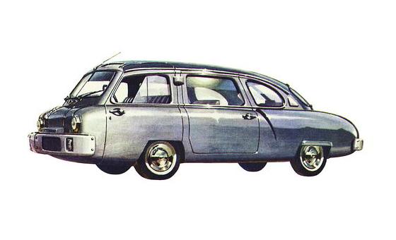 Мечтая о будущем. НАМИ-013 НАМИ, авто, ретроавтомобиль, СССР, техника, автопром, длиннопост