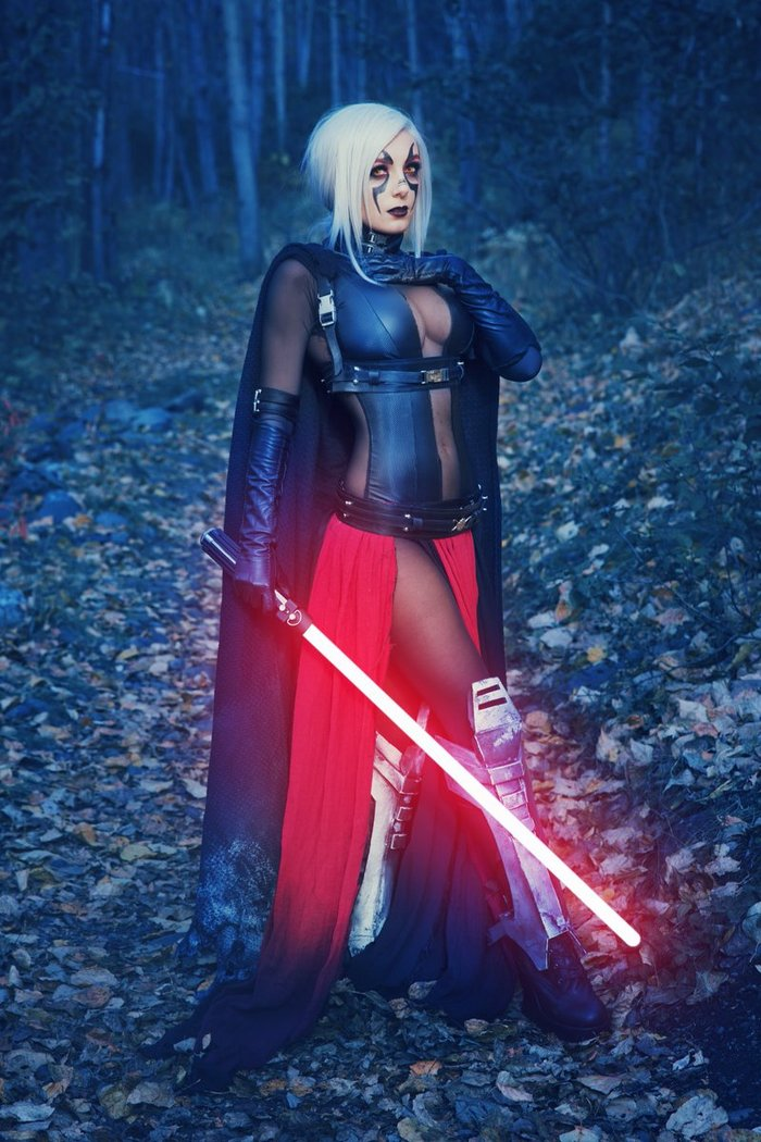 Sith - by - Jessica Nigri Косплей, Star wars, Звездные войны VIII, Ситхи, Джедаи, Девушки, Jessica Nigri, Длиннопост