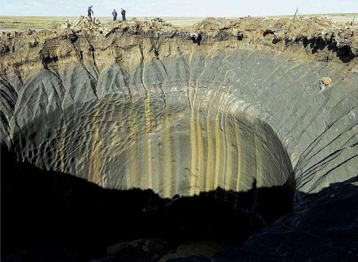 Куда исчезла гигантская воронка на Ямале Ямал, Воронка, Фотография, Не мое, Длиннопост