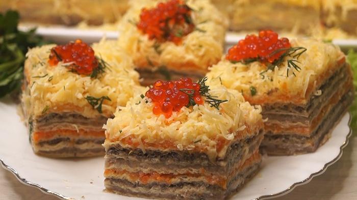 Закусочный торт Закусочный торт, Рецепт, Видео рецепт, Длиннопост