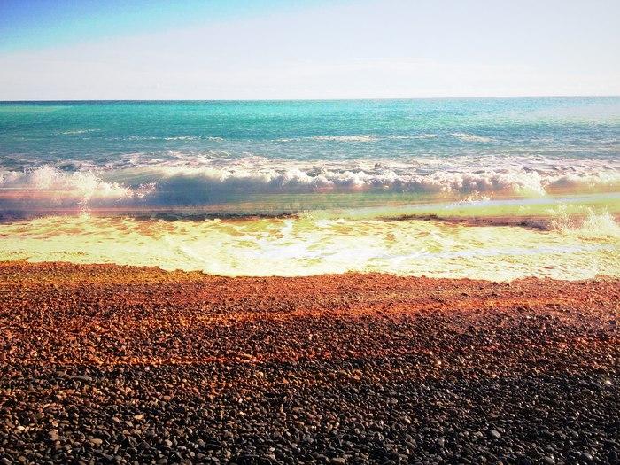 Надо же...Ницца. Февральского моря пост Море, Моё, Ницца, Лазурное побережье, Франция, Путешествия