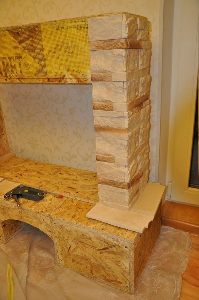 Фальш-камин своими руками из дерева сделай сам, своими руками, камин, фальш, дерево, фанера, изделия из дерева, обман, длиннопост