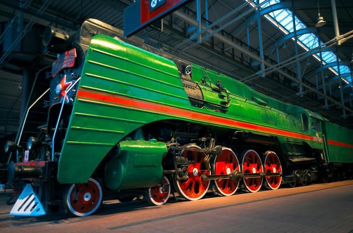 Музей РЖД в Питере. РЖД, Поезд, Паровоз, Музей, Санкт-Петербург, Длиннопост