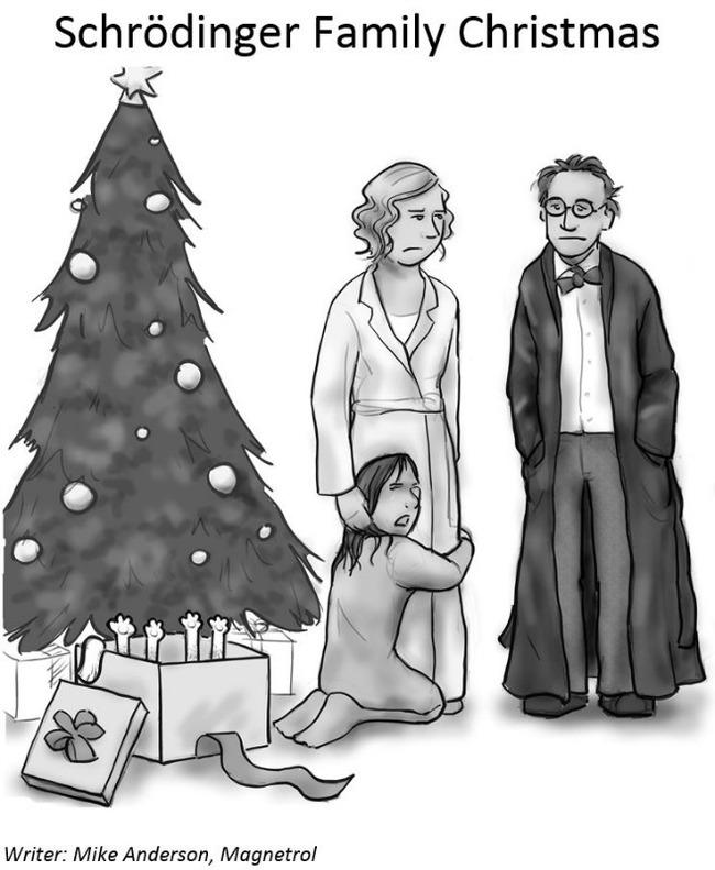 Рождество в семье Шредингера