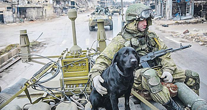 В единой маскировочной расцветке Россия, Сирия, Вооруженные силы, Политика, Длиннопост