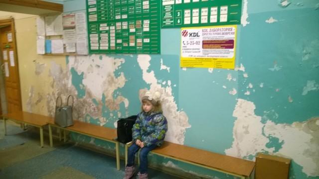 Росписи в детской государственной поликлинике Вышнего Волочка Здравоохранение, Провинция, Дети, Медицина, Поликлиника, Длиннопост