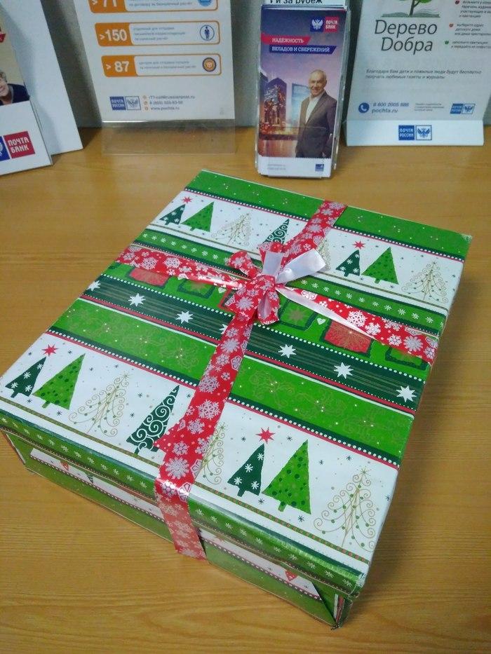 Подарок из Копейска в Москву Обмен подарками, Новый Год, Тайный Санта, Спасибо, Подарок, Длиннопост