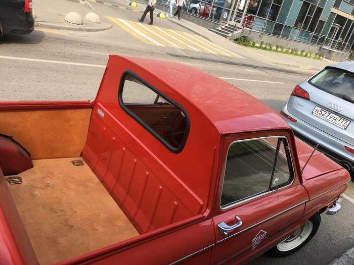 Запорожец-Пикап на улицах Москвы Запорожец, Запорожец-Пикап, Автотюнинг, Авто, Машина, Кабриолет, Длиннопост