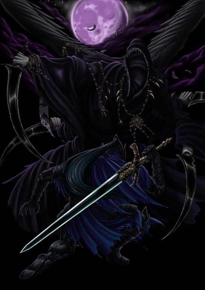 Nightmare Duel Dark souls, Knight Artorias, Mergo, Bloodborne, Fromsoftware