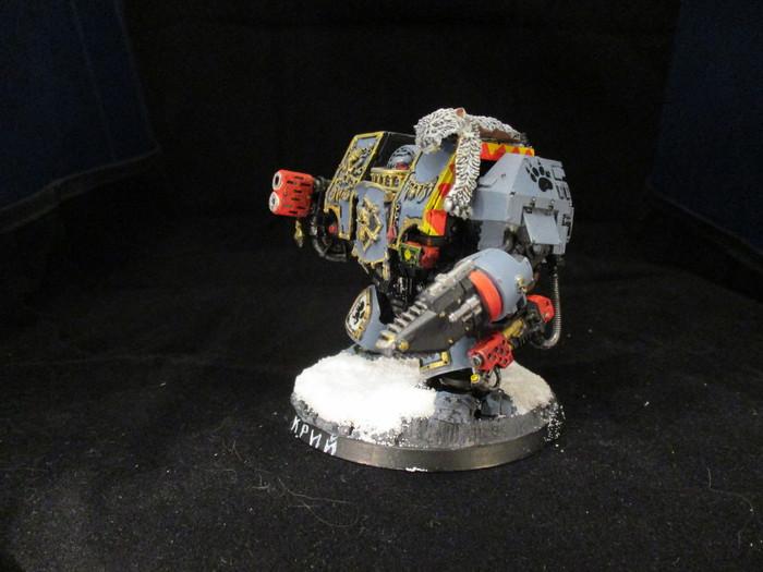 Космические Волки. Дредноуты. С дальней полки... Warhammer 40k, Wh miniatures, Space wolves, Дредноут, Длиннопост