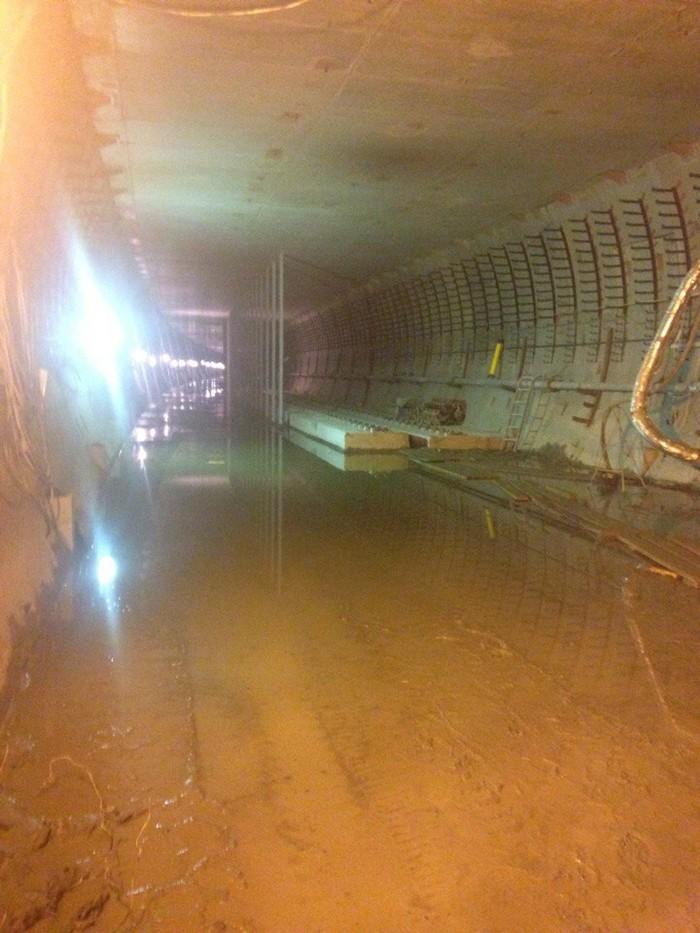 Двухпутный тоннель Подземка, Метро, Строительство, Subway, Длиннопост