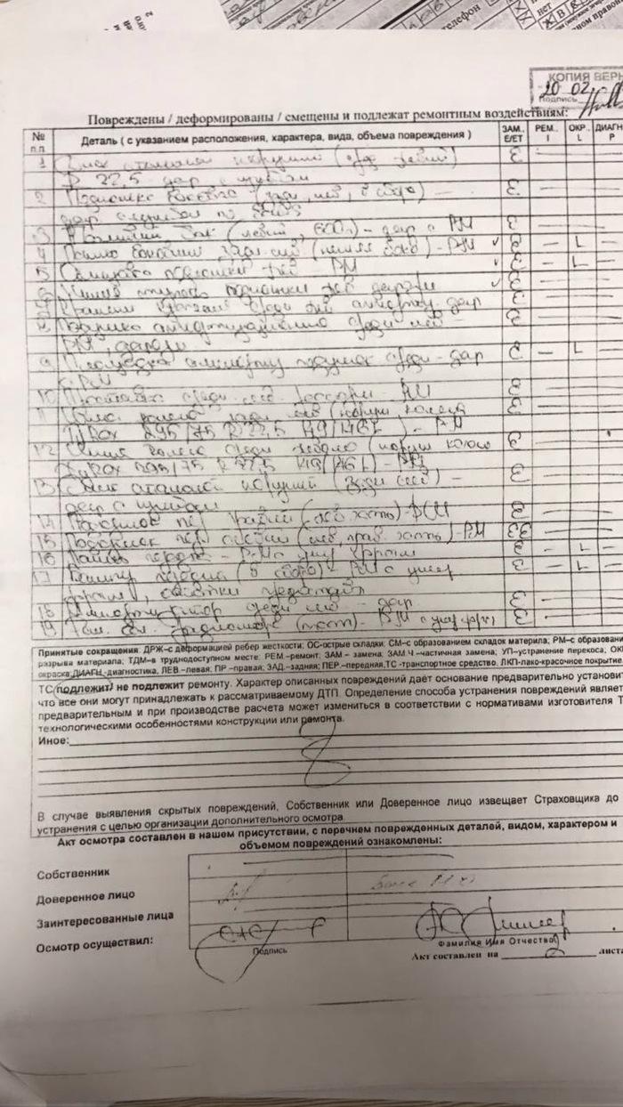 Помогите разобрать почерк, тут написаны повреждения автомобиля Помощь, Почерк, Длиннопост