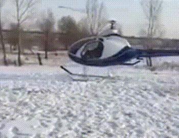 Дай порулить Вертолет, Крушение, Пилотирование, Китай, Дай порулить, Дай покататься, Гифка, Видео