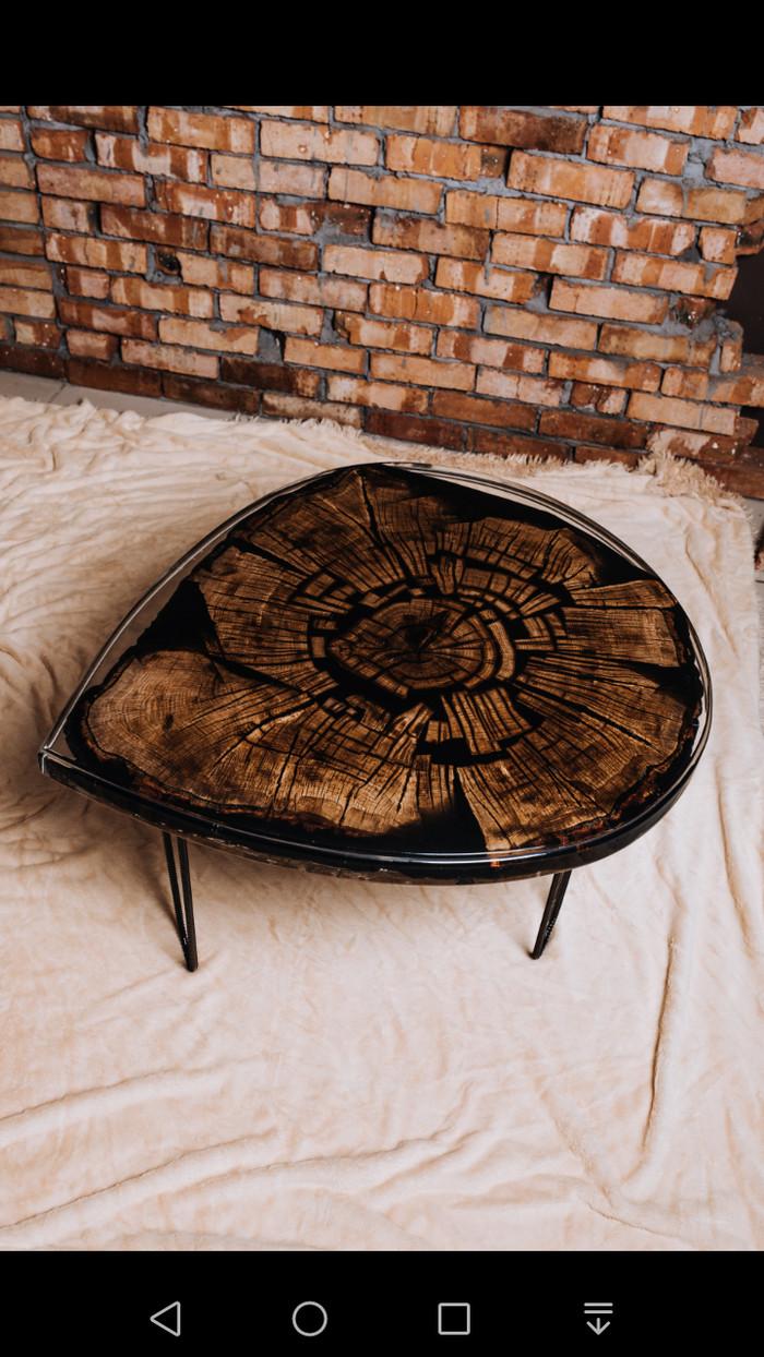 Новый столик!) Дубовый стол, Журнальный столик, Кофейный столик, Массив, Длиннопост