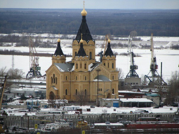 Кафедральный собор Александра Невского г. Нижний Новгород Нижний Новгород, Церковь, Зум