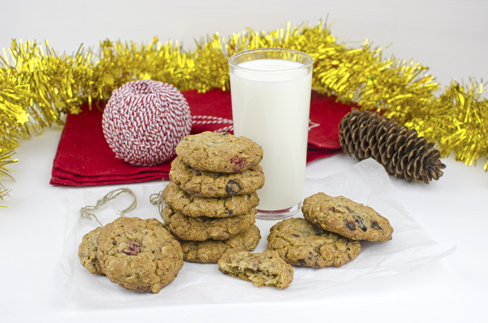 Зима здесь: готовим ну очень вкусное овсяное печенье Рецепт, Фоторецепт, Десерт, Рецепты десертов, Печенье, Новый Год, Длиннопост