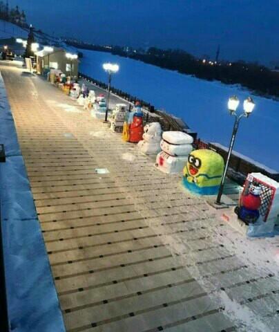 Тюменские снеговики