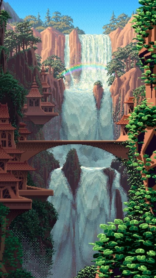 Чуть чуть пикселей Pixel art, Пиксель, Длиннопост