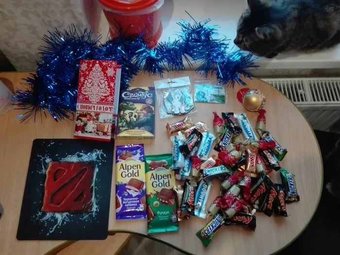 Подарок из Тюмени Тайный Санта, Новый Год, Обмен подарками, Екатеринбург, Тюмень, Длиннопост
