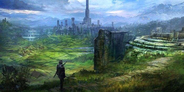 Вселенная TESO Арт, The Elder Scrolls, The Elder Scrolls IV: Oblivion, Oblivion, Обливион, Длиннопост, TES Online