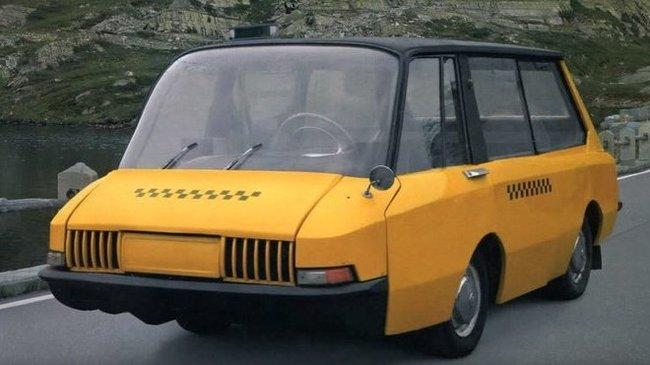 Такси СССР 1964 г. Ретроавтомобиль, Такси, Авто, СССР, Концепт, Автопром, Длиннопост