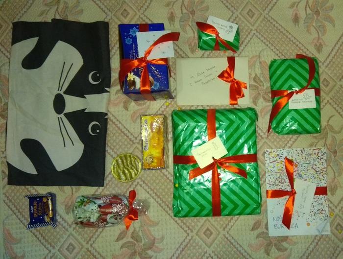 Подарок от Деда Мороза из Риги. Дед Мороз, Новогодний обмен подарками, Тайный Санта, Длиннопост