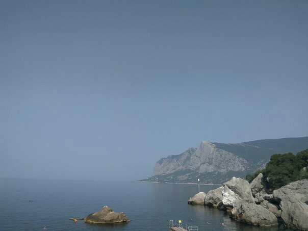 Поход в горы Крыма, или не суйся в воду, не зная броду (с фото) Отдых, Лето, Крым, Горы, Море, Поход, Глупость, Беспечность, Длиннопост