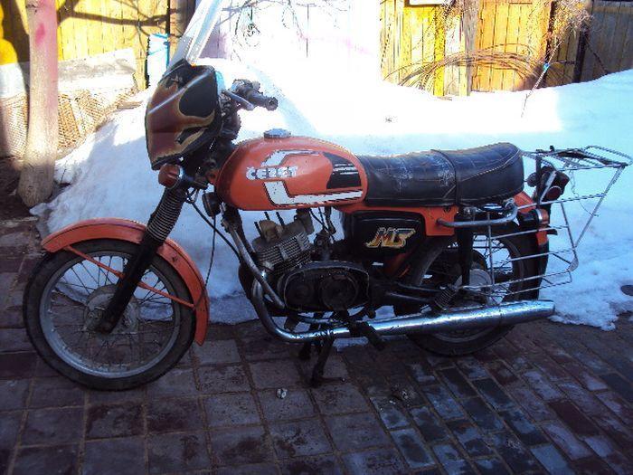 Реставрация мотоцикла Cezet 350