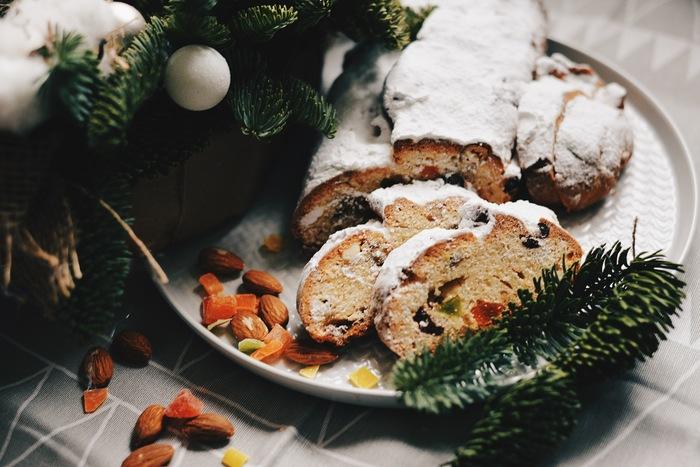Рецепт праздничного штоллена Рецепт, Еда, Выпечка, Новый Год, Сладости, Длиннопост
