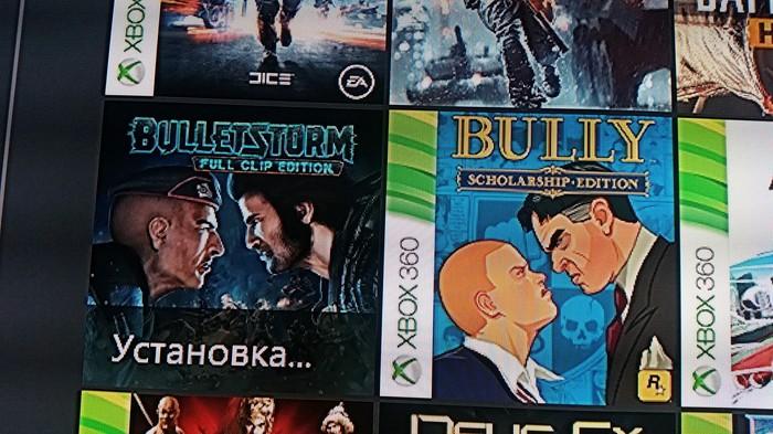 Устанавливаю игру и заметил забавное совпадение, картинки похожи и игры начинаются на bull