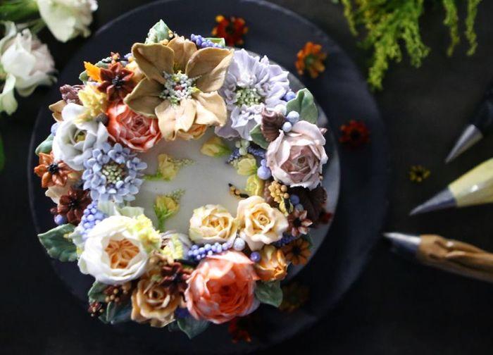Atelier Soo торт, крем, цветы, кондитерская, длиннопост