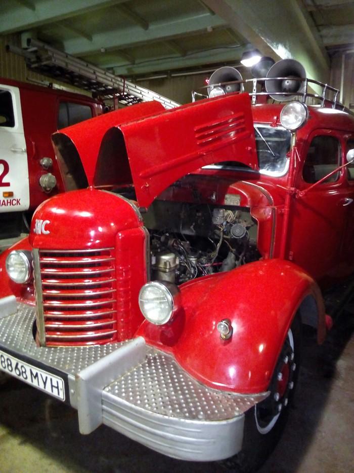 Автомобиль связи и освещения часть 2 . внутренности. Пожарная охрана, Олдтаймер, Мурманск, Длиннопост