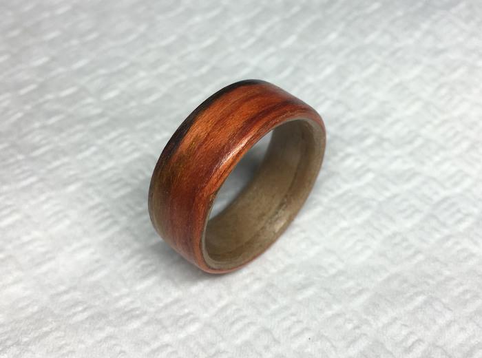 Кольцо из шпона своими руками Длиннопост, Кольцо, Изделия из дерева, Кольцо из дерева, Своими руками