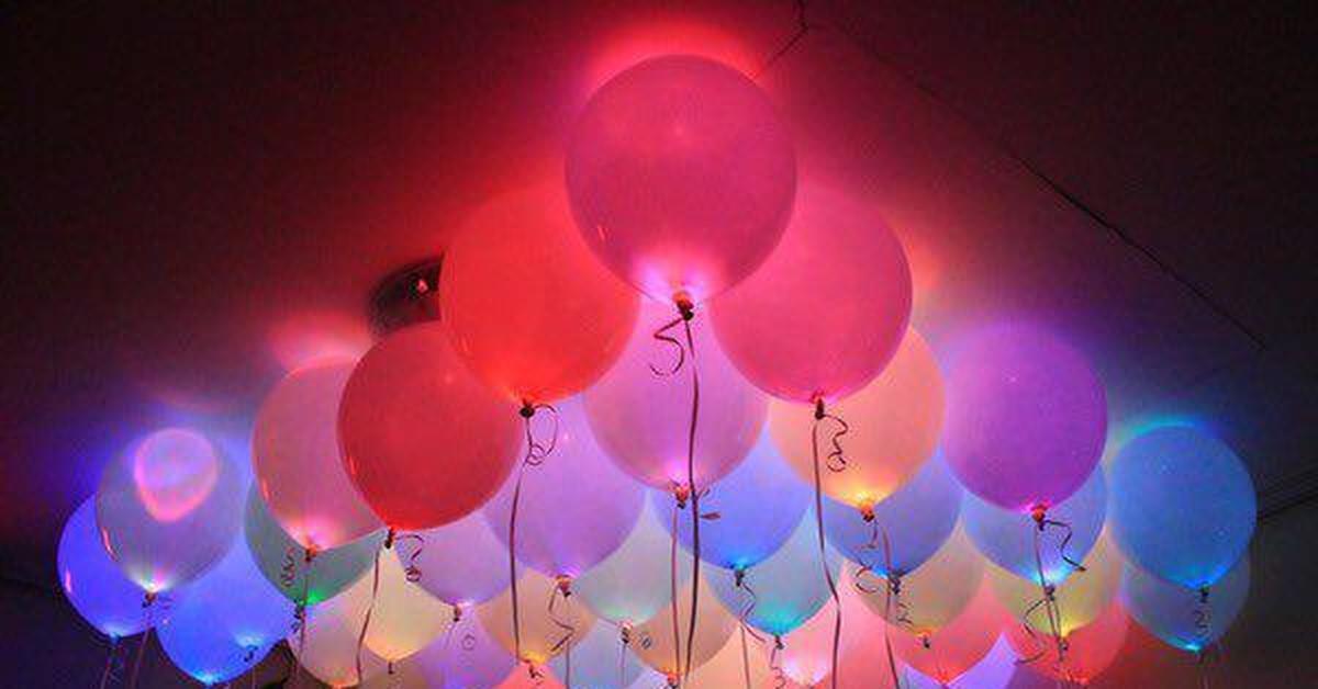 Картинки с днем рождения светящиеся